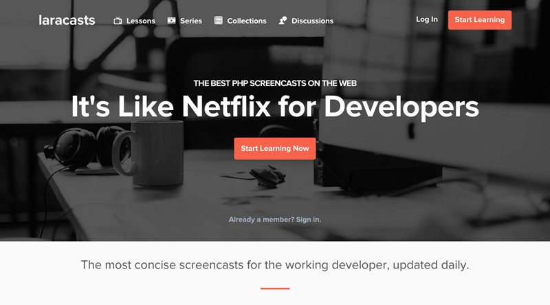 laracasts, like netflix for developers