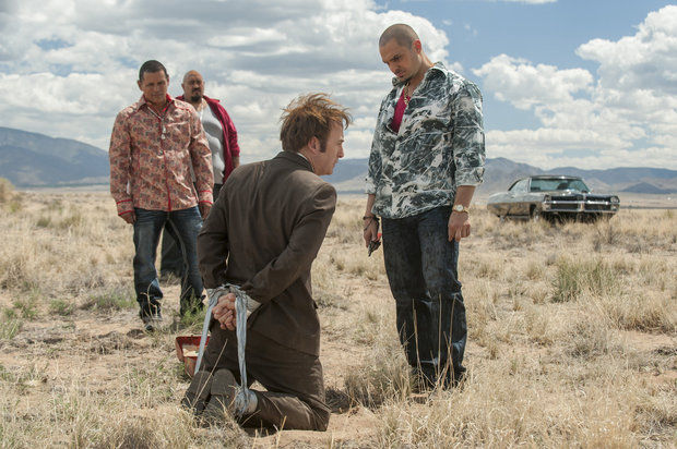 tuco with his gang in a hard situation