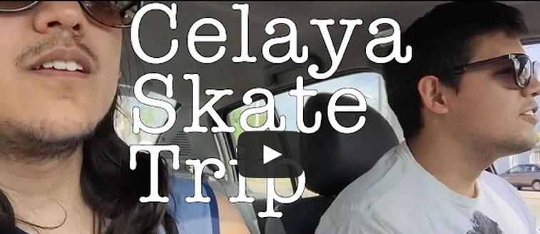 Celaya skate trip
