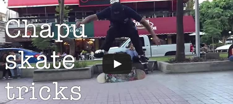 Chapultepec-skateboarding-tricks